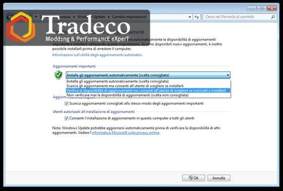 Disattivazione aggiornamento automatico di Windows 10